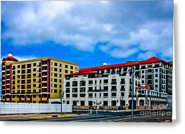 Asbury Greeting Cards - The Streets of Asbury Greeting Card by Colleen Kammerer