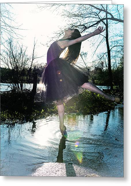 Ballet Dancers Photographs Greeting Cards - The Strong Greeting Card by Ryan Crane