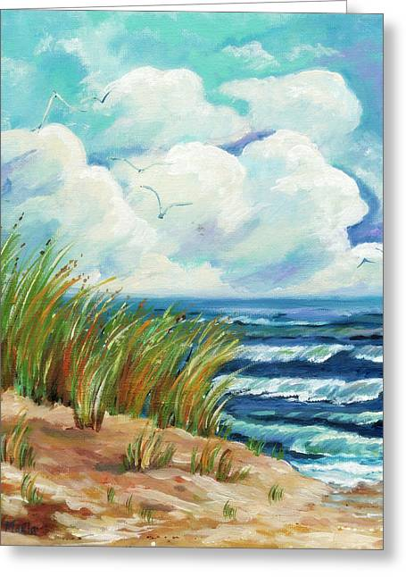 Arkansas Paintings Greeting Cards - The Summer Wind Greeting Card by MarLa Hoover