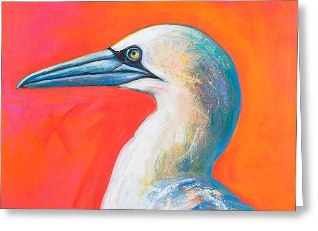 Seabirds Greeting Cards - The Sun Is Up The Sky Is Blue Greeting Card by Rosemary Conroy