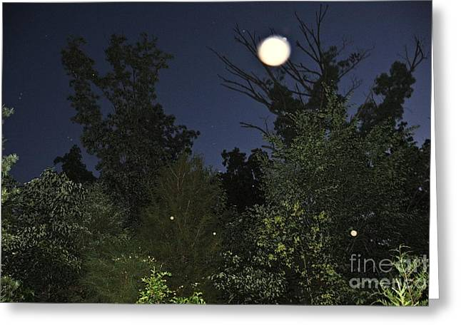 Night Angel Greeting Cards - The Superstar Greeting Card by Doug Kean