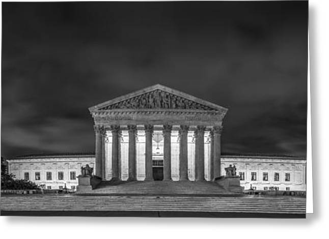 Chief Justice Greeting Cards - The Supreme Court Greeting Card by David Morefield