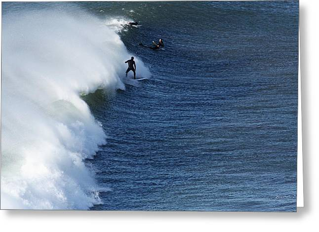 Aidan Moran Photography Greeting Cards - The Surfer  Greeting Card by Aidan Moran