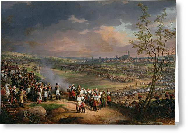 Ulm Greeting Cards - The Surrender Of Ulm, 20th October 1805, 1815 Oil On Canvas Greeting Card by Charles Thevenin