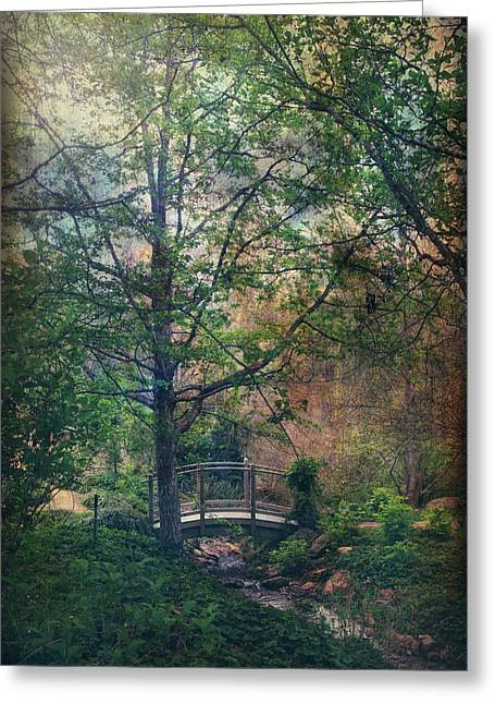 Landscape. Scenic Digital Art Greeting Cards - The Sweet Hereafter Greeting Card by Laurie Search