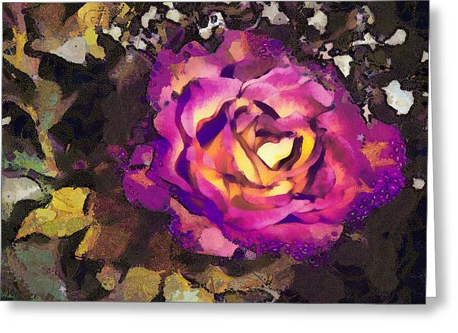 Angelinavick Greeting Cards - The Sweetest Rose 2 Greeting Card by Angelina Vick