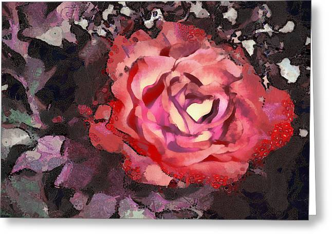 Angelinavick Greeting Cards - The Sweetest Rose 3 Greeting Card by Angelina Vick