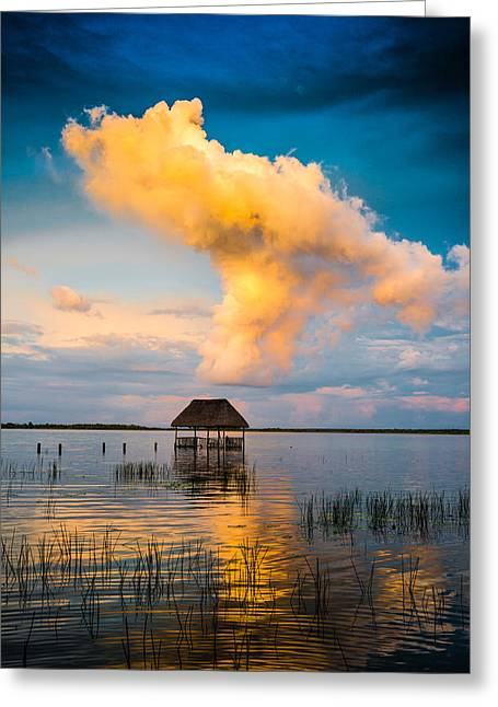 T Travel Greeting Cards - The T cloud Greeting Card by Yuri Santin