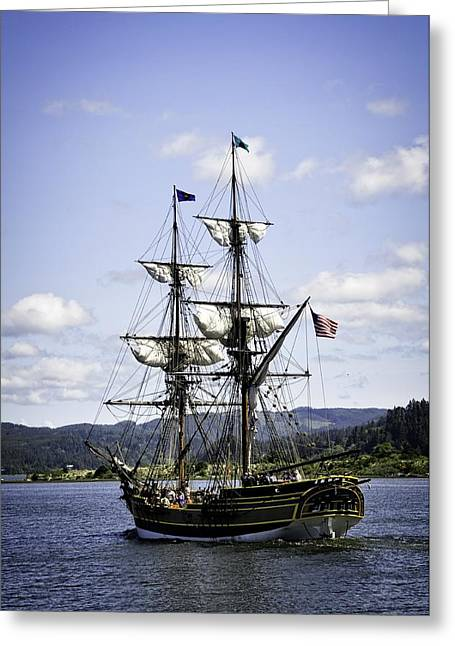 Masts Greeting Cards - The Tall Ship Greeting Card by Image Takers Photography LLC - Laura Morgan