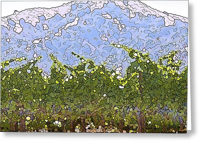 Ready For Harvest Greeting Cards - The Taste of Wine Greeting Card by Artist and Photographer Laura Wrede