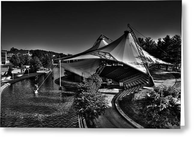 Convention Greeting Cards - The Tennessee Amphitheater Greeting Card by David Patterson
