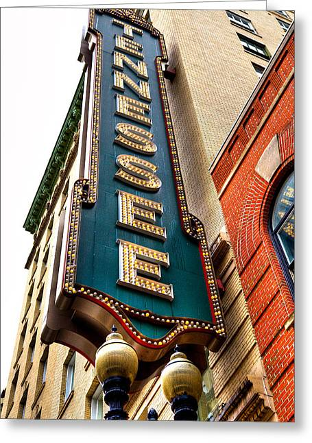 Tn Greeting Cards - The Tennessee Theatre - Knoxville Tennessee Greeting Card by David Patterson