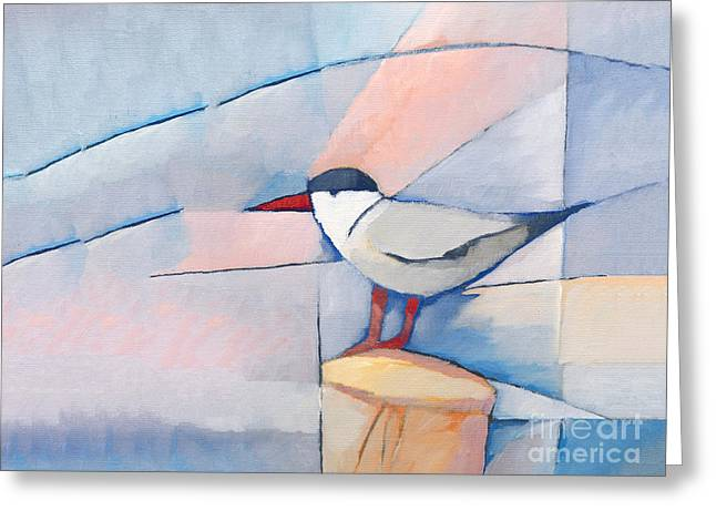 The Tern Greeting Card by Lutz Baar