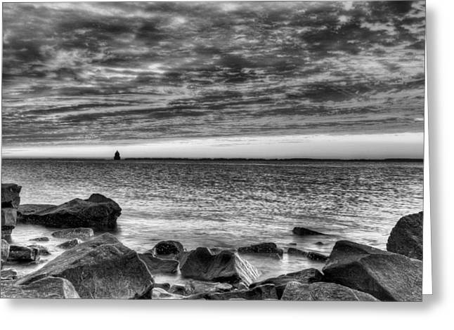 Annapolis Md Greeting Cards - The Texture of the Chesapeake Greeting Card by JC Findley