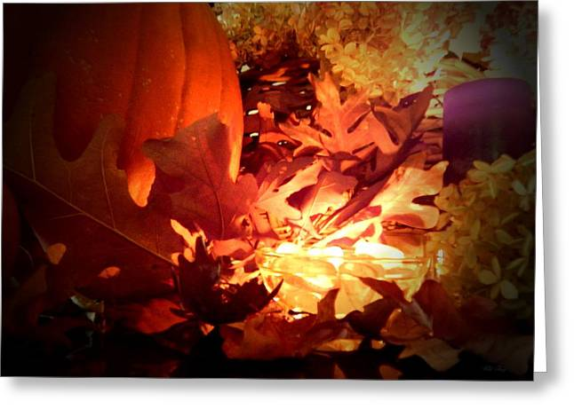 Candle Lit Greeting Cards - The Thinning Greeting Card by Wild Thing