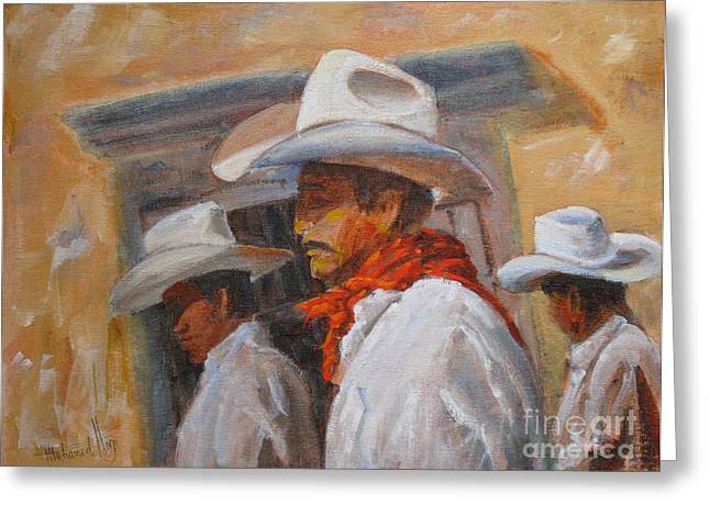 Mohamed Greeting Cards - The Three Amigos Greeting Card by Mohamed Hirji