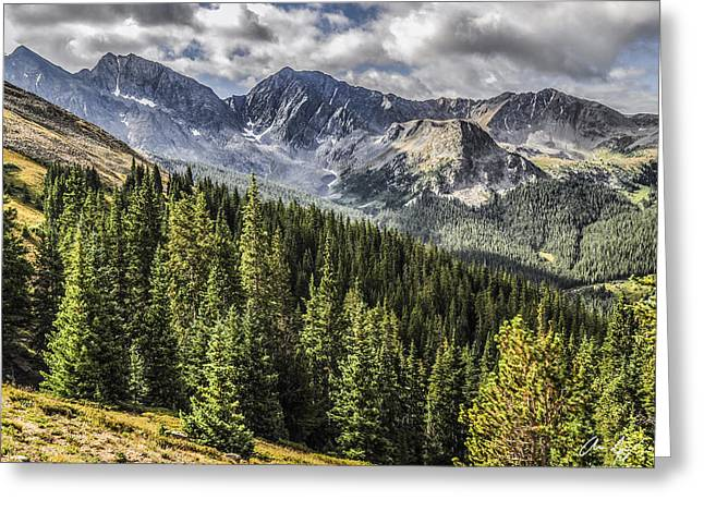 Colorado Greeting Cards - The Three Apostles Greeting Card by Aaron Spong