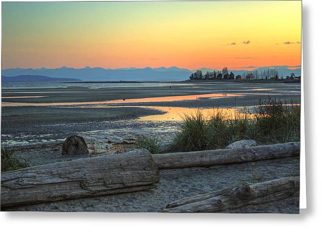 Bc Coast Greeting Cards - The Tide is Low Greeting Card by Randy Hall