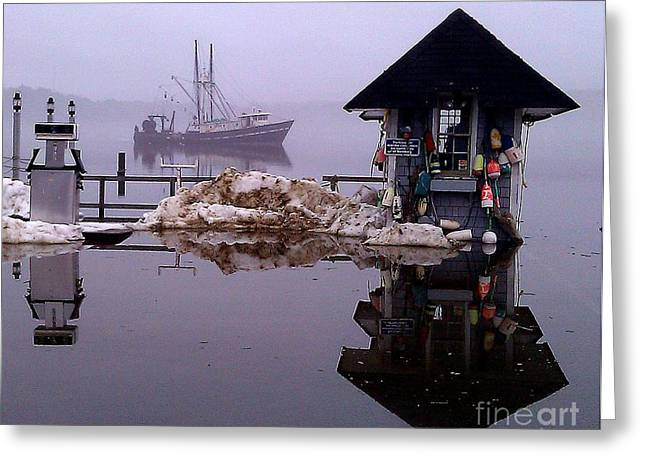 The Tide Is Rising Greeting Card by Donnie Freeman