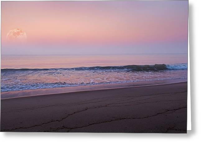 New England Coast Greeting Cards - The Tide Keeper Greeting Card by Bill  Wakeley