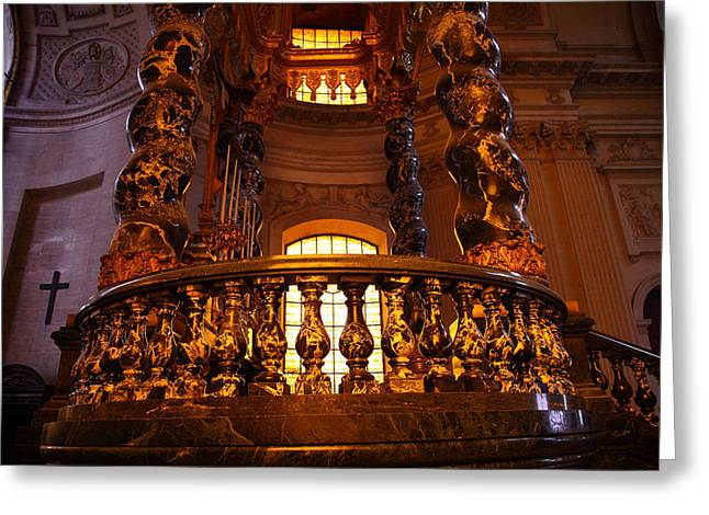 The Tombs at Les Invalides - Paris France - 011322 Greeting Card by DC Photographer