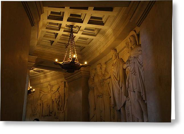 Framed Greeting Cards - The Tombs at Les Invalides - Paris France - 011327 Greeting Card by DC Photographer