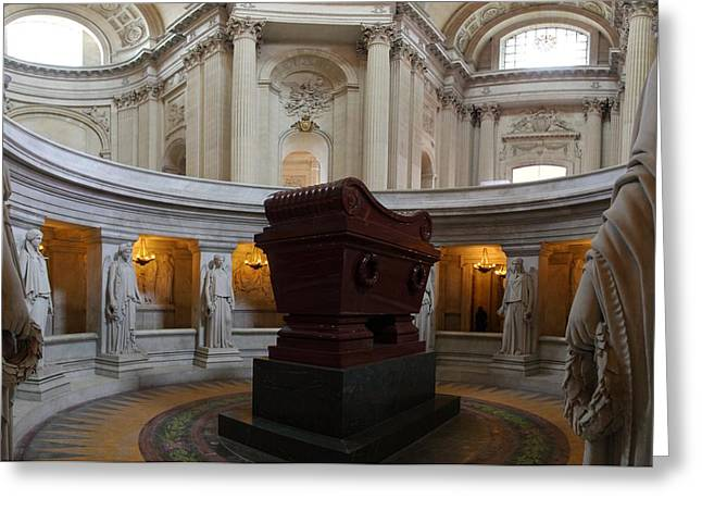 The Tombs At Les Invalides - Paris France - 011328 Greeting Card by DC Photographer