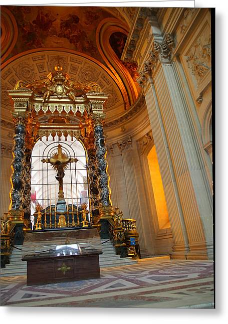 Morning Greeting Cards - The Tombs at Les Invalides - Paris France - 01136 Greeting Card by DC Photographer