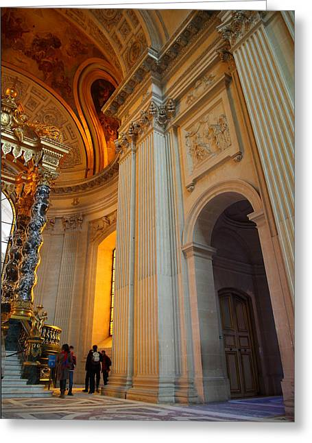 Sites Greeting Cards - The Tombs at Les Invalides - Paris France - 01138 Greeting Card by DC Photographer