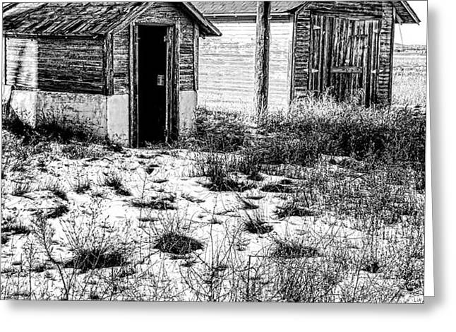 The Tool  Shed Greeting Card by Baywest Imaging