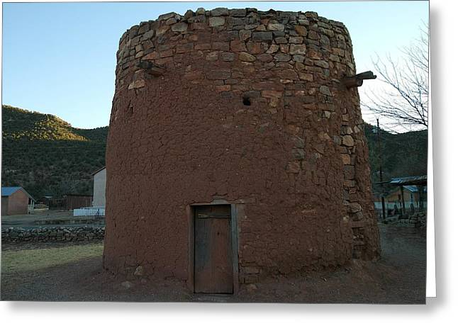 Old Relics Photographs Greeting Cards - The Torreon In Lincoln City New Mexico Greeting Card by Jeff  Swan
