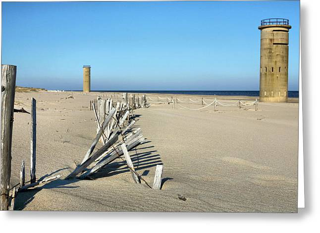Delmarva Greeting Cards - The Towers Greeting Card by JC Findley