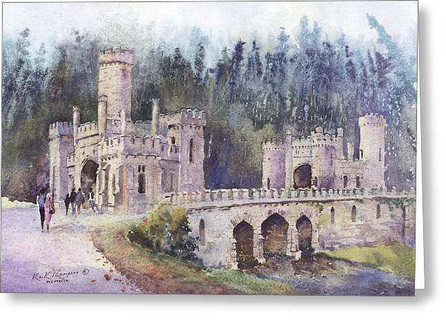Www Greeting Cards Greeting Cards - The Towers Lismore County Waterford Ireland Greeting Card by Keith W Thompson