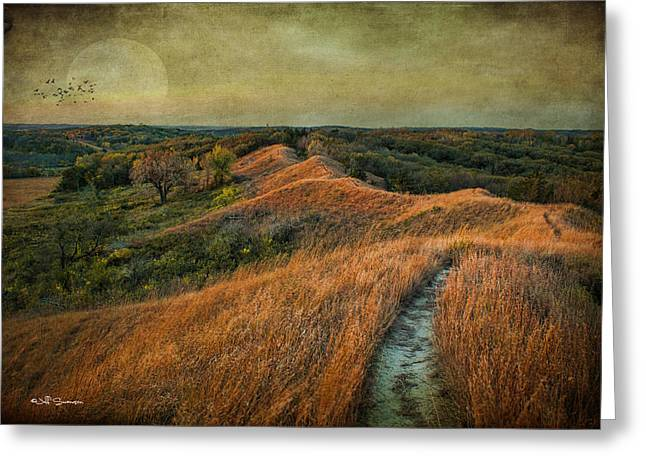 The Trailhead Greeting Card by Jeff Swanson