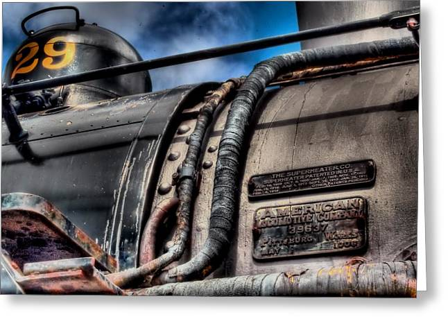 The Train Greeting Card by DH Visions Photography