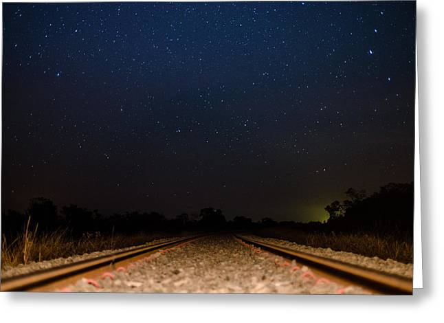 Stellate Greeting Cards - The Train is Coming Greeting Card by Helder Faria