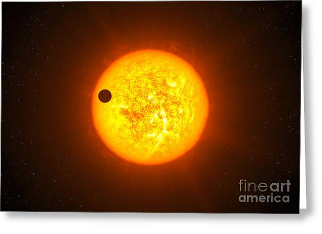 To Be Normal Greeting Cards - The Transiting Exoplanet  Greeting Card by  European Southern Observatory