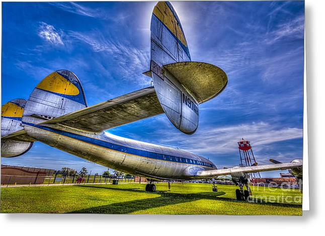 Airliner Greeting Cards - The Transatlantic Queen Greeting Card by Marvin Spates