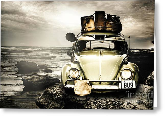 The Travel Bug Greeting Card by Jorgo Photography - Wall Art Gallery