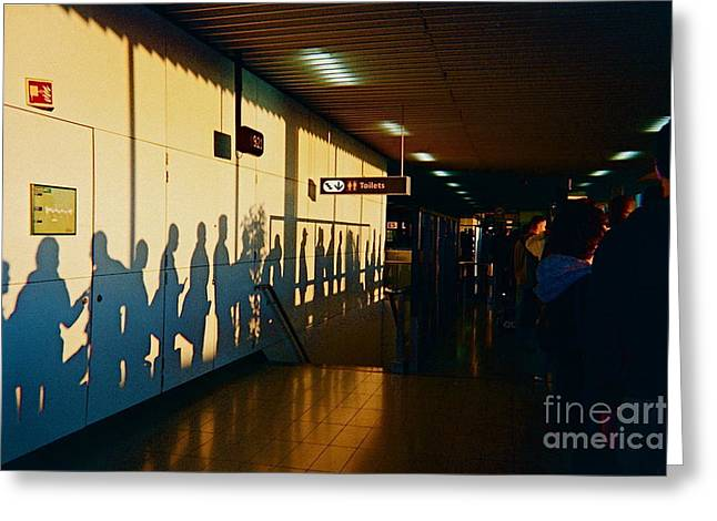 Privilege Greeting Cards - The Travelers Greeting Card by France  Art