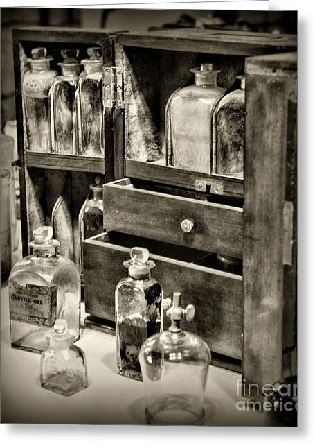 Medication Greeting Cards - The Traveling Doctor Greeting Card by Paul Ward