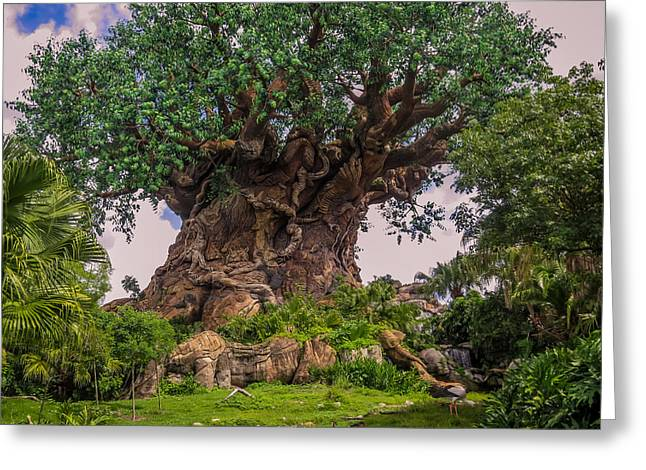 The Tree Of Life Greeting Card by Zina Stromberg