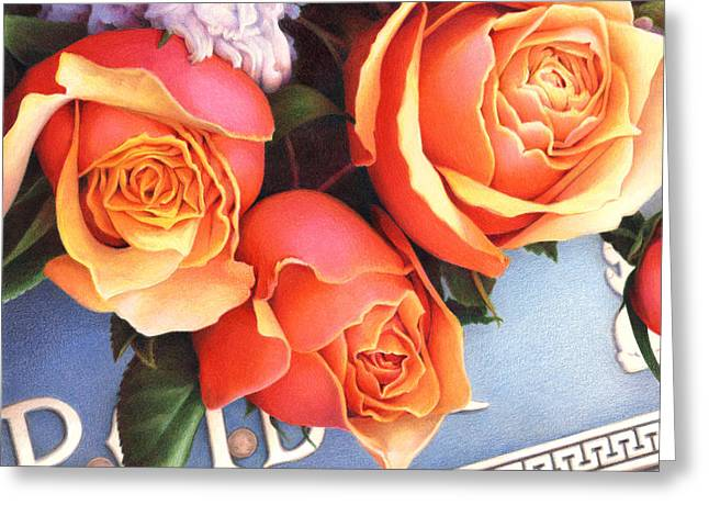Grave Markers Greeting Cards - The Tribute Greeting Card by Amy S Turner