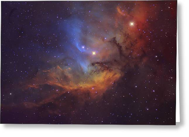 Colorful Cloud Formations Greeting Cards - The Tulip Nebula Sh2-101 In Cygnus Greeting Card by Robert Gendler
