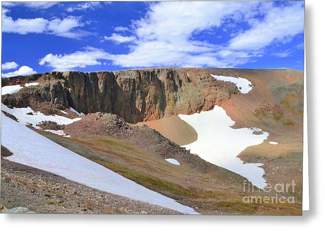 The Tundra Greeting Card by Kathleen Struckle