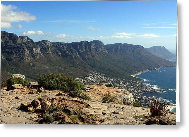 Cape Town Greeting Cards - The Twelve Apostles Greeting Card by Aidan Moran