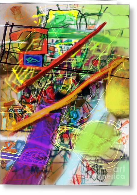Tzaddik Greeting Cards - The Tzaddik lives on Emunah 22b Greeting Card by David Baruch Wolk