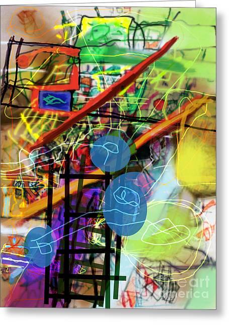 Tzaddik Greeting Cards - The Tzaddik lives on Emunah 22c Greeting Card by David Baruch Wolk