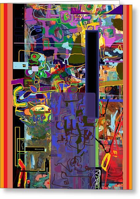 Tzaddik Greeting Cards - The Tzaddik lives on Emunah 7 Greeting Card by David Baruch Wolk