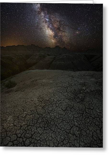 Astrophoto Greeting Cards - The Unforgiven Greeting Card by Aaron J Groen